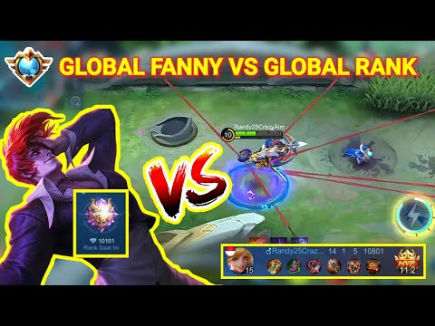 TOP GLOBAL MYTHIC 10K POINTS VS RANDY25 FANNY!! WHO WIN??   Mobile Legends
