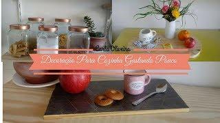 💥IDÉIAS PARA DECORAR A COZINHA GASTANDO POUCO | Carla Oliveira