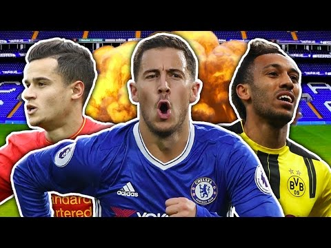 Will Eden Hazard Outshine Philippe Coutinho & Win The League?! | W&L