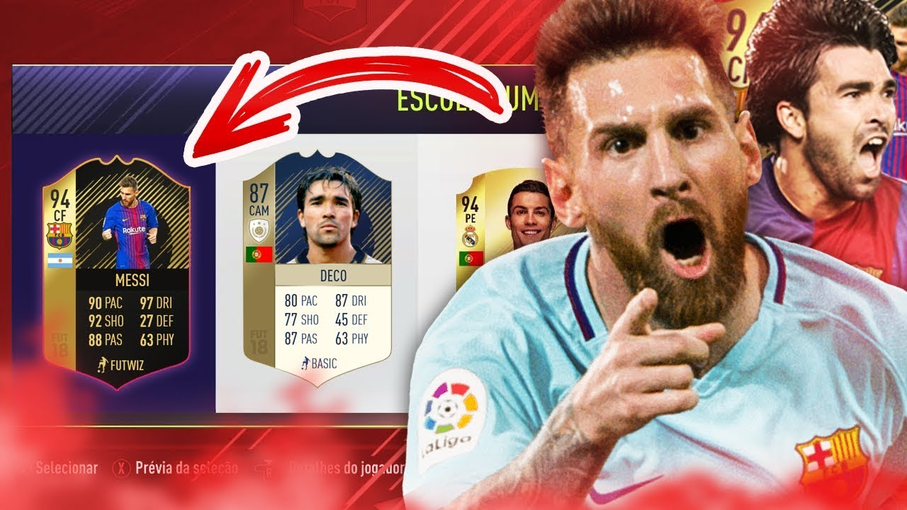 Deco messi draft espetacular fut draft fifa 18 for Deco 90 fut 18