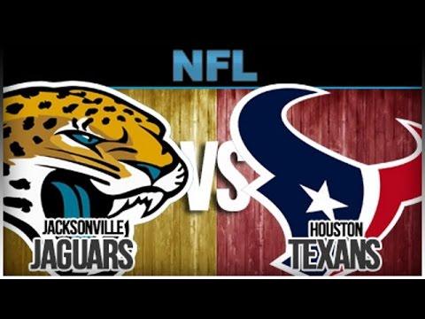 Jacksonville Jaguars Vs Houston Texans | 12/18/2016 | NFL 2016 | Week 15