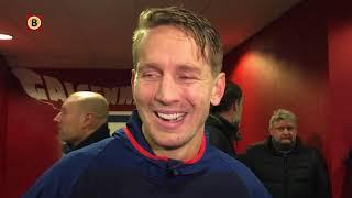 PSV-aanvoerder Luuk de Jong na 2-2 in Utrecht: 'Ik ben trots op het team'