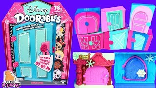 #СЮРПРИЗИ У ДВЕРЦЯТАХ DOORABLES від Disney! Розпакування Іграшок для Дітей з Травень Тойс Пінк video kids