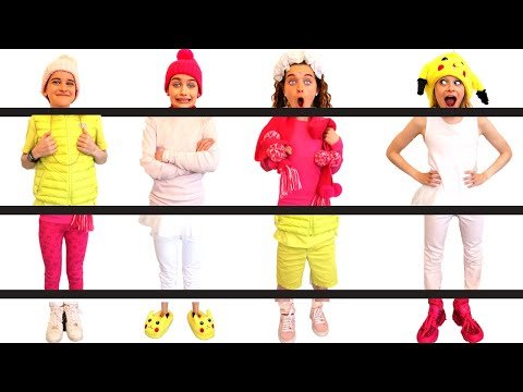 WE'RE ALL MIXED UP!! PUT US IN THE RIGHT OUTFIT Challenge By The Norris Nuts