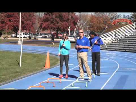 Work On Proper Running Form In Your Pole Vaulters  Youtube