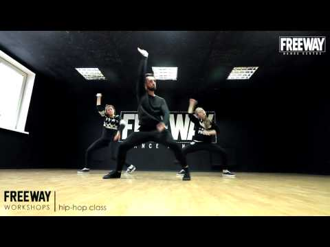 FREEWAY WORKSHOPS Calvin Harris feat  Big Sean   Open Wide hip hop workshop by Maxim Kovtun
