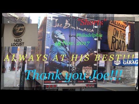 Joe Bonamassa Academy of Music Philadelphia Shorts