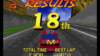 Daytona Usa Deluxe PC - PCem v11 - Software and D3D modes - Shortplay
