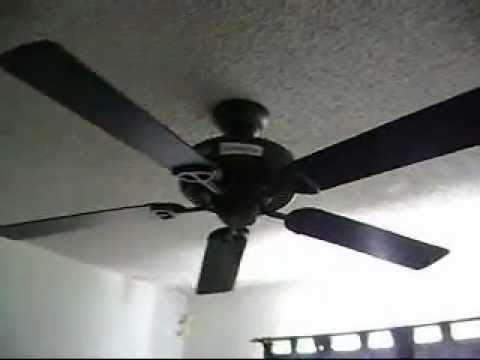 Hampton Bay Farmington ceiling fan with slide dimmer