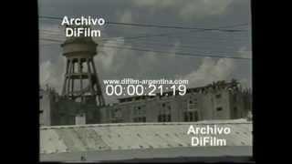 DiFilm - Informe Motines en gran parte de las cárceles por reclamos de Leyes (1993)
