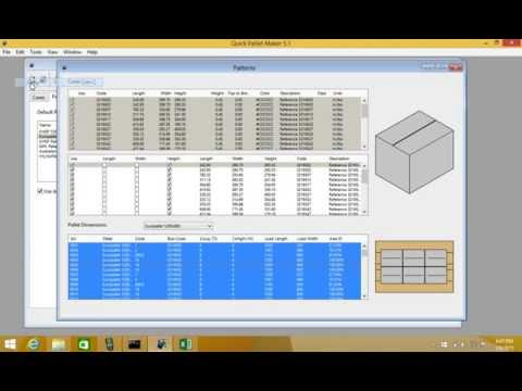 Qpm 5 calculate pallet patterns quickly example 1 youtube qpm 5 calculate pallet patterns quickly example 1 ccuart