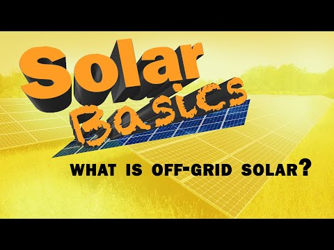 What is Off-Grid Solar?