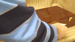 Cigar Box Conversion To Humidor