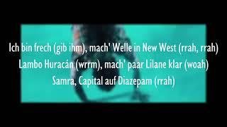 CAPITAL BRA & SAMRA - SATELLIT (Official HQ Lyrics) (Text)