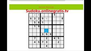 Sudoku online Juego gratis