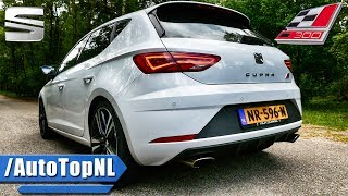 2017 Seat Leon Cupra 300 DRIVE & Exhaust SOUND by AutoTopNL