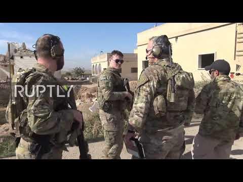 Syria: US-led coalition