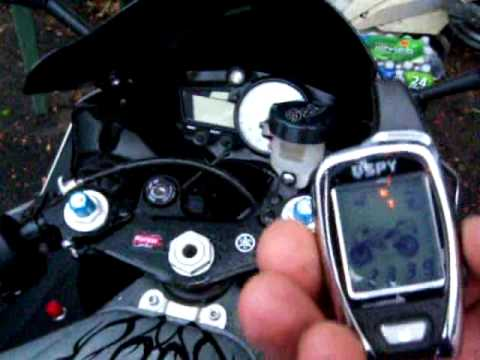 Spy 5000m Motorcycle Alarm