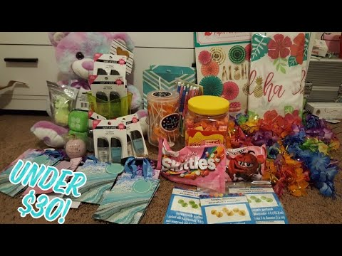 Tropical Birthday Party On A Budget! Dollar Tree, Party City, And More!