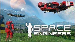 КОСМОС И ВОССТАНИЕ МАШИН. ОБУЧЕНИЕ И ПЕРВЫЙ СМОТР - Space Engineers #1