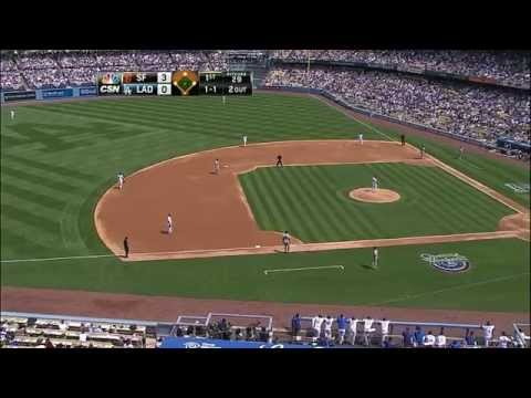Giants vs. Dodgers 04.04.2014 [Full Game HD]