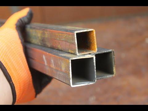 Навес из круглых металлических труб своими руками фото