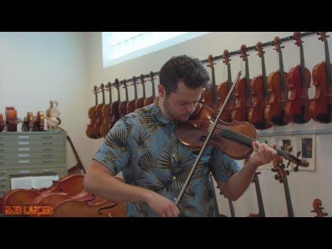 """""""Despacito"""" on 1.2 MILLION Dollar Violin (Live with Loop Pedal)"""