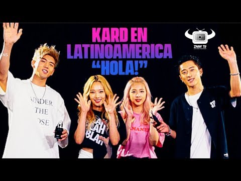 K.A.R.D & ZANYTV! LATIN AMERICAN SPECIAL GREETING