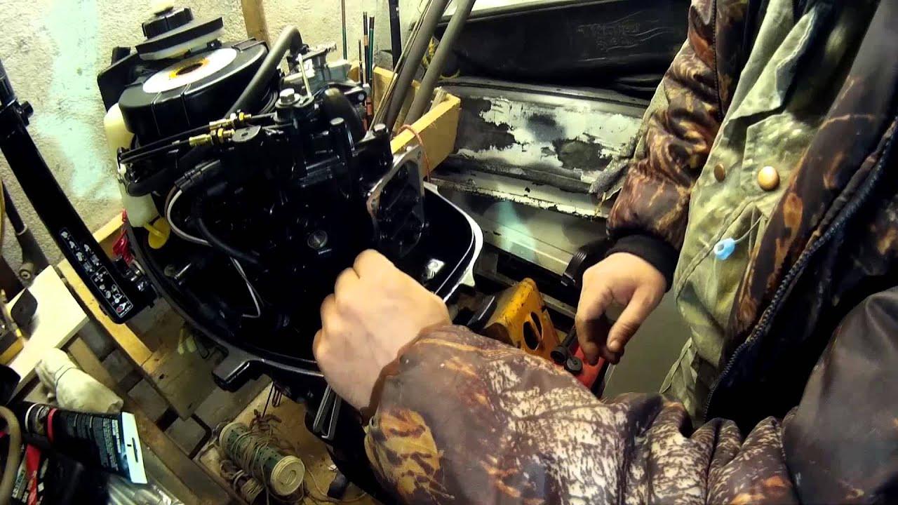 лодочный мотор меркурий 5 л.с 4 такта схема