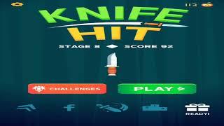 KNIFE HIT.   |  Новая игра,если понравилась го 3 лайка