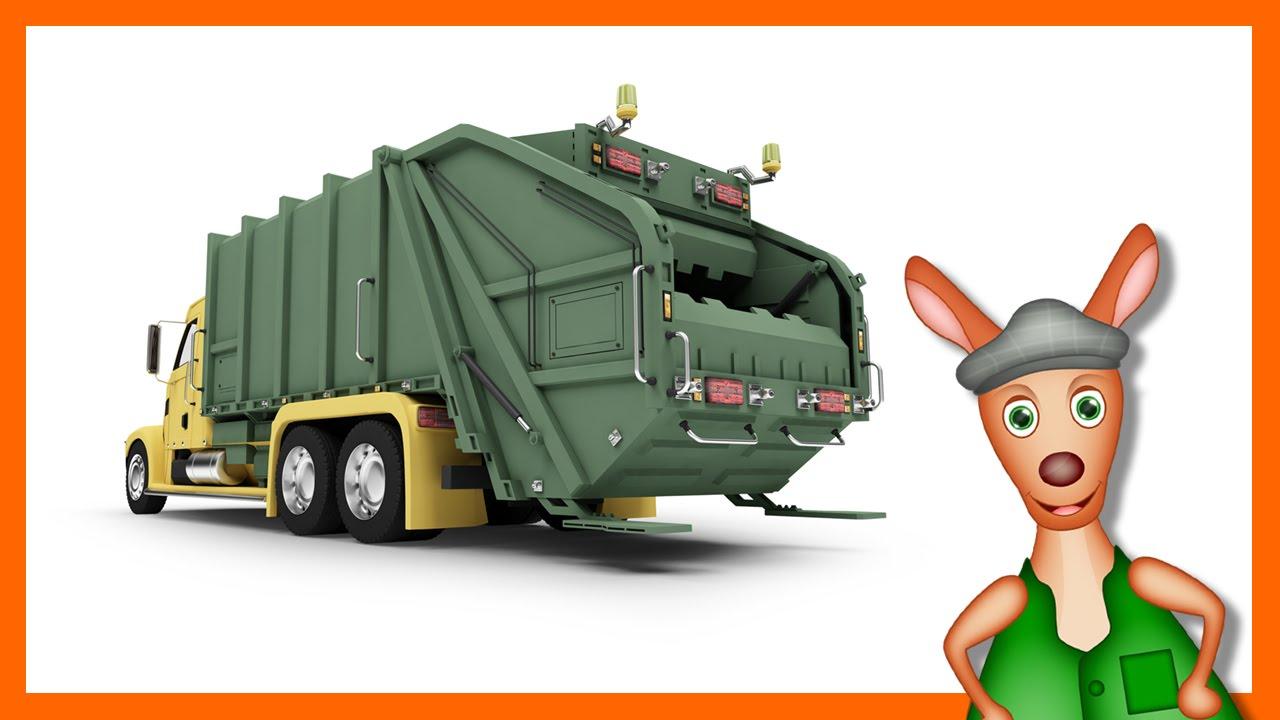 Garbage truck truck videos for kids preschool kindergarten learning youtube