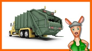 Garbage Truck | Truck Videos For Kids. Preschool & Kindergarten Learning.