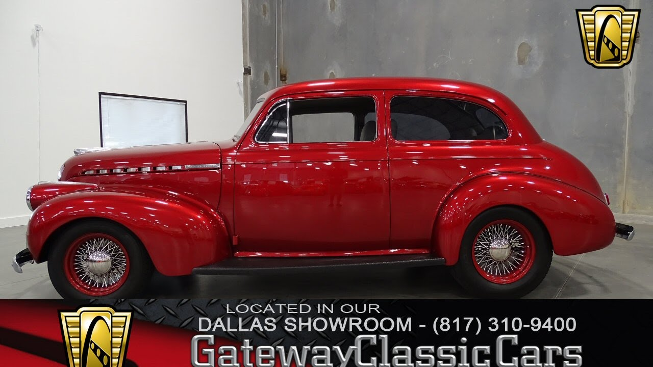1940 Chevrolet Master Delux Stock #185 Gateway Classic Cars of ...