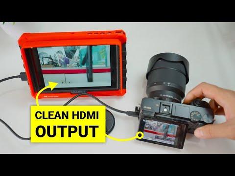 Tutorial Clean HDMI Kamera Mirrorless Sony A6000 Series - Hilangkan Tampilan Indikator Menu HDMI OUT