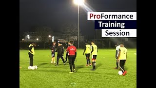 Soccer Academy Enfield Training, Football Showcase Preparations featuring Train Effective Player