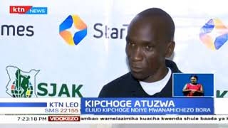 Eliud Kipchoge na Beatrice Chepkoech watuzwa Kenya