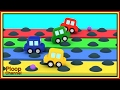 BUMPS RACE Challenge! - Cartoon Cars Videos for Kids - Cartoons for Children - Kids Cars Cartoons