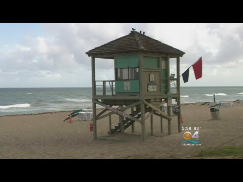 Fort Lauderdale Beach Closed Due To Red Tide
