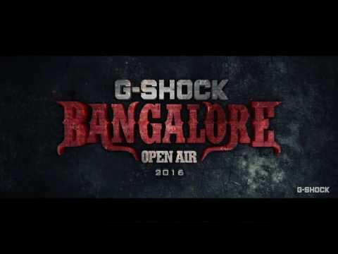 G-Shock Bangalore Open Air Metal Festival 2016 - Official Trailer
