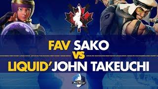FAV Sako (Menat) VS Liquid'John Takeuchi (Rashid) - Canada Cup 2019 L. Round of 12 - CPT 2019