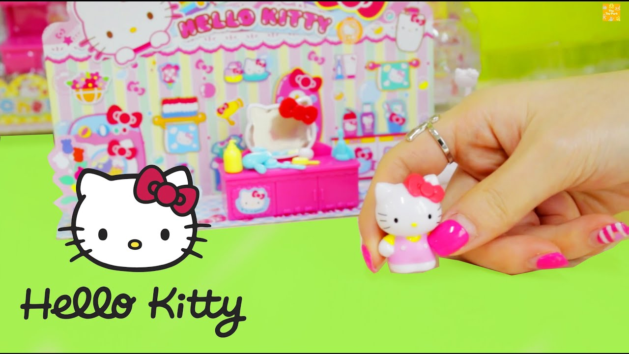 Hello Kitty Bathroom Set ♥ Bathroom Furniture ハローキティ | トイレ   YouTube