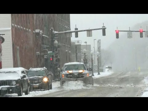 Winter storm set to slam Northeast