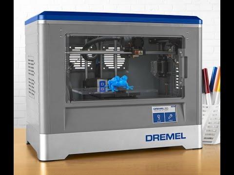 Test imprimante dremel 3d idea builder youtube - Imprimante 3d dremel ...
