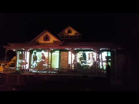 Amón Cultural - Video mapping en Casa Verde