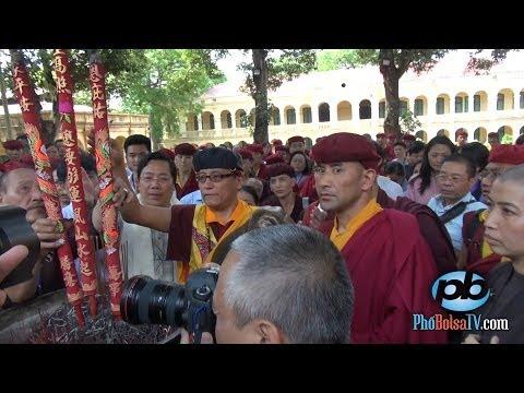 Long trọng, tưng bừng chào đón Đức Pháp Vương Gyalwang Drukpa