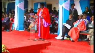 Dr SK Macharia Honorary Degree