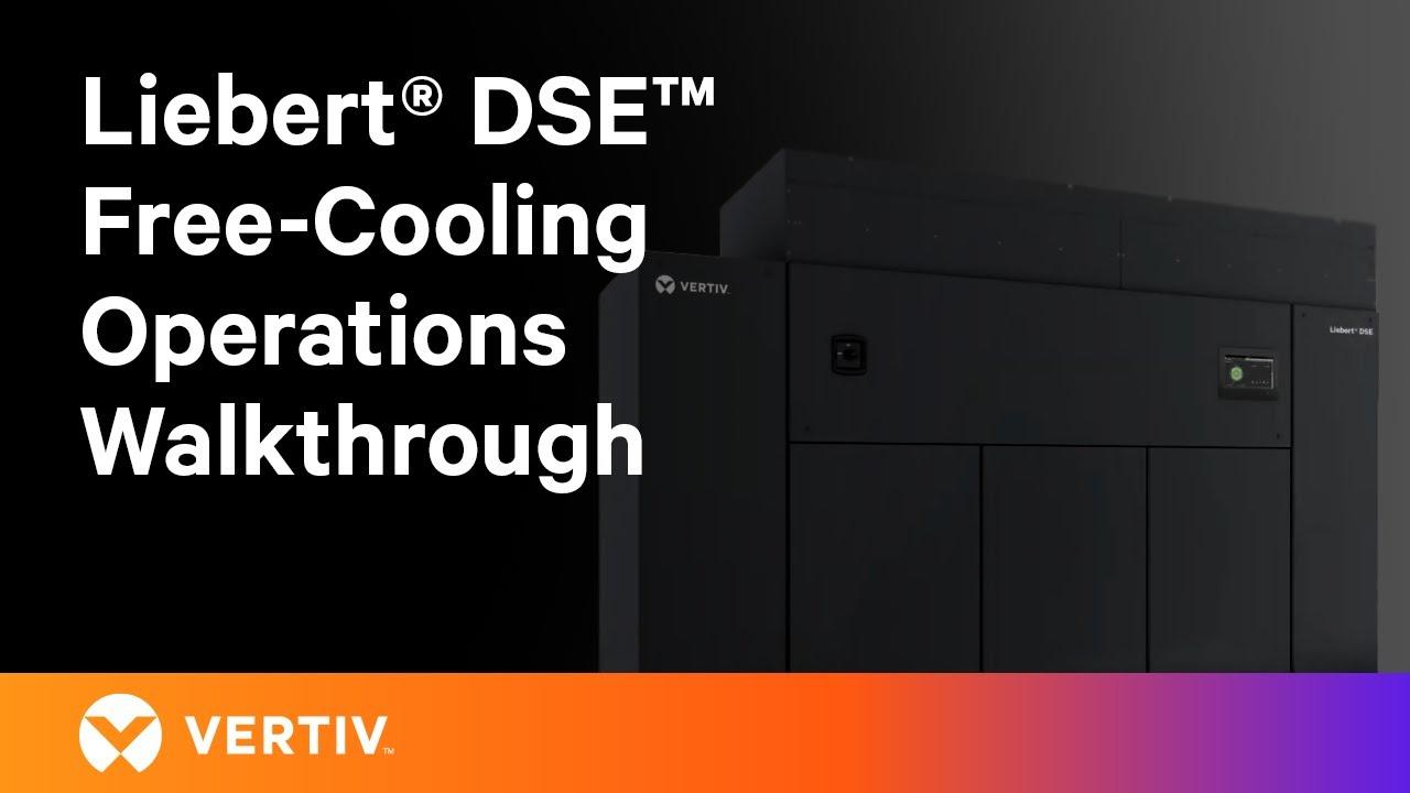 Liebert DSE Free-Cooling Economization System, Operations Walkthrough