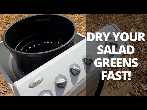 How To Build A Washing Machine Salad Spinner
