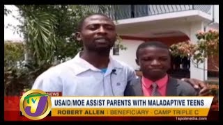 TVJ News Ray of Hope: USAID/MO Assist Parent with Maladaptive Teens - August 19 2019