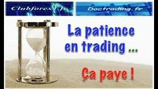 La patience en trading, ça paye !